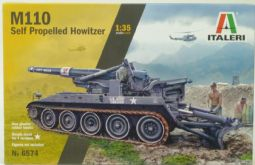 Italeri 6574 M110 Self-Propelled Howitzer